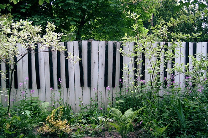 garden fence Idea | yard fencing