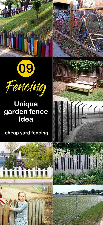 Fencing | garden fence Idea |yard fencing