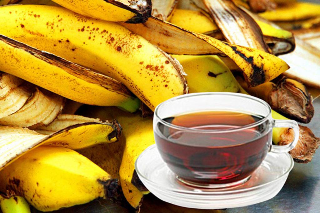 Banana Peels Tea