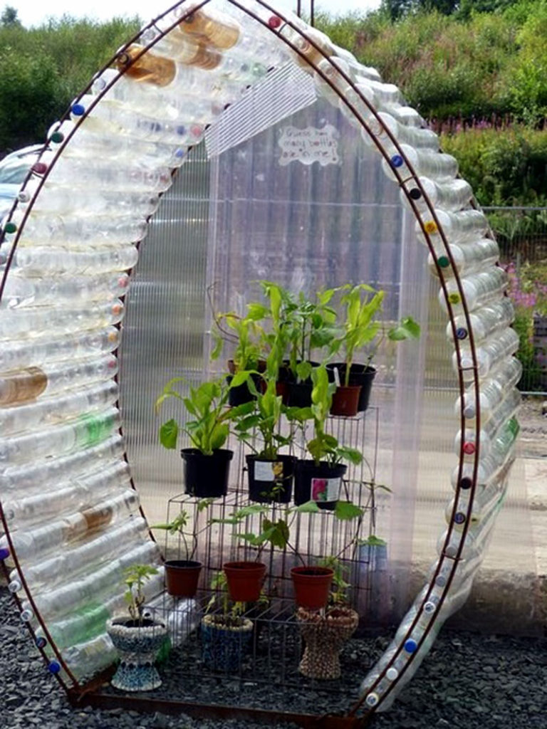 9 Diy Plastic Bottle Garden Projects