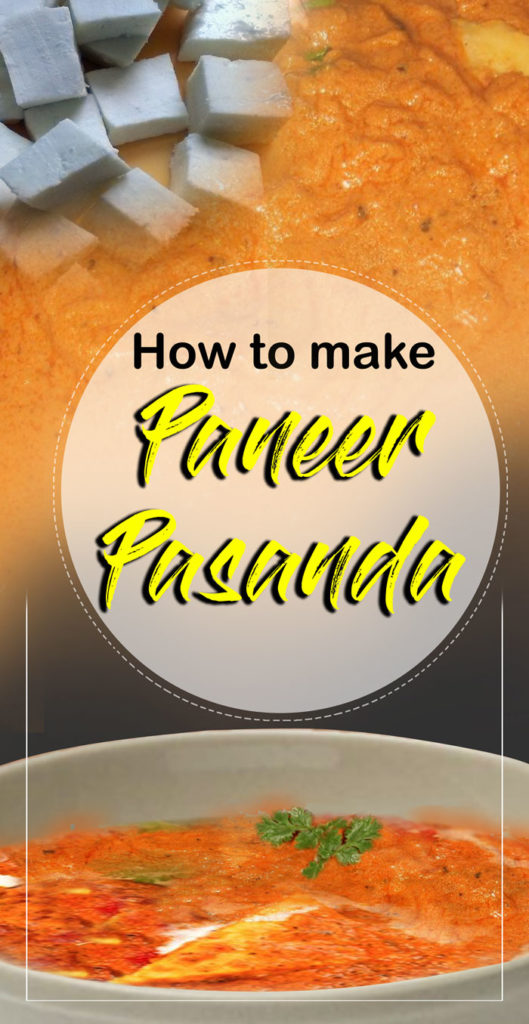 Paneer pasanda for pin