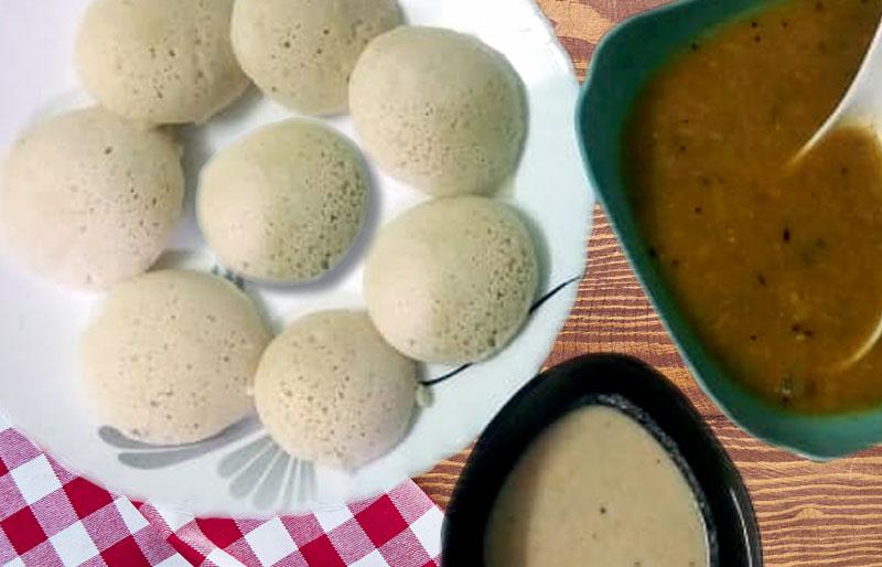 Idli recipe | How to make Idli in a pressure cooker | South Indian dish