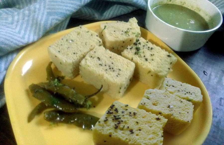 How to make Khaman Dhokla recipe | Dhokla Gujrati recipe
