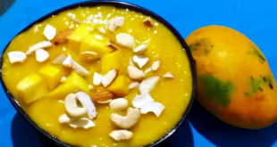 Mango Phirni recipe | a seasonal traditional dish