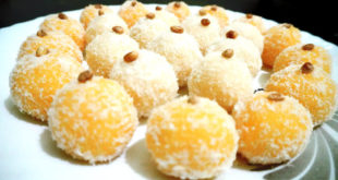How to make Coconut Ladoo | Nariyal Ladoo recipe | Coconut laddus