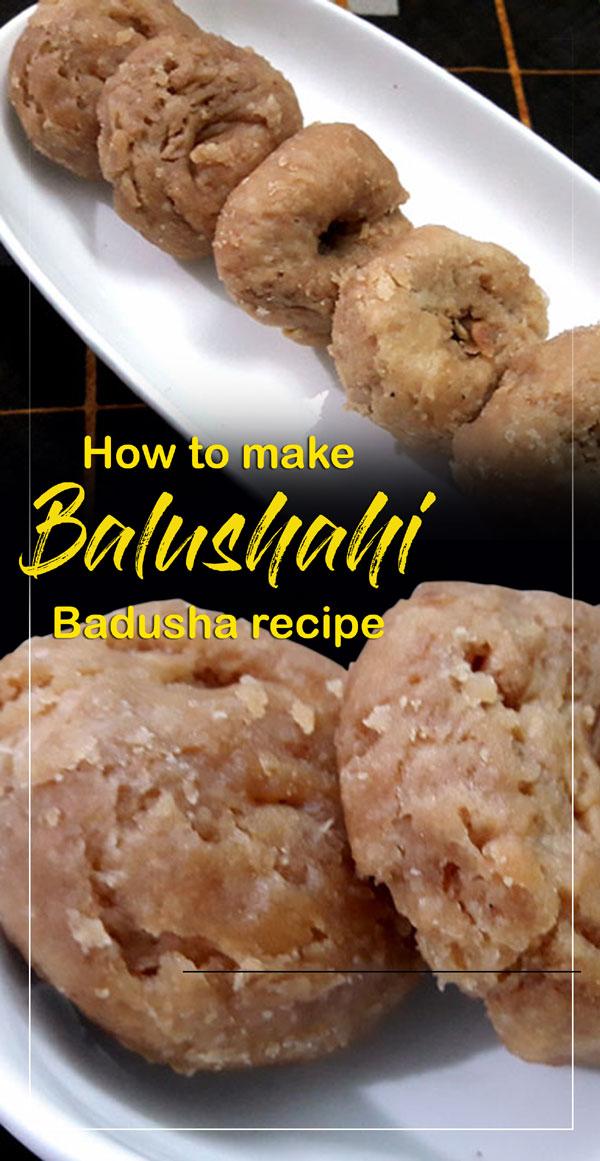 Balushahi recipe | Badusha recipe